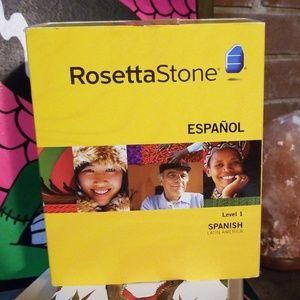 Other - Rosetta Stone Level 1 Espanol
